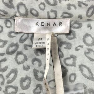 Kenar Tops - Kenar L/s Blouse animal print SZ M